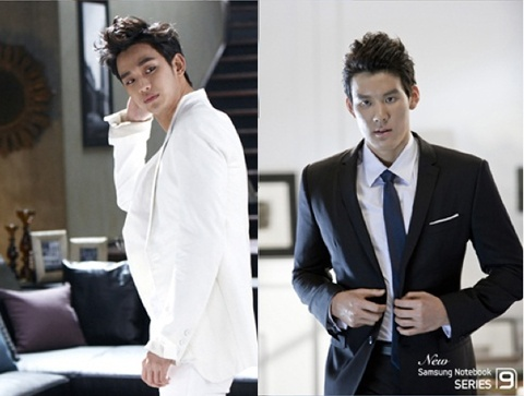Who's Hotter? Kim Soo Hyun in White Or Park Tae Hwan in Black?