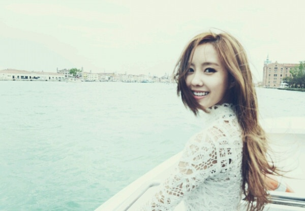 T-ara's Hyomin Shares Photos From Venice