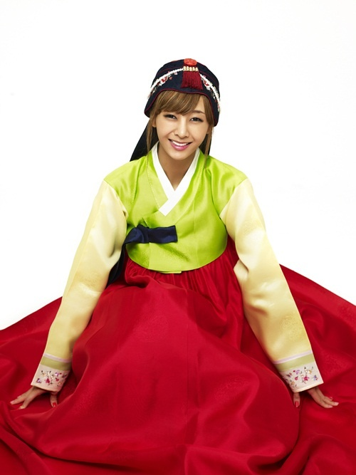 G.NA Gives Chuseok Greetings to Fans