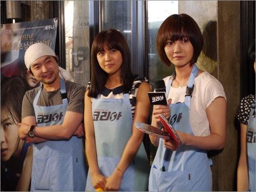 Ha Ji Won and Bae Doo Na Serve Food and Drinks!