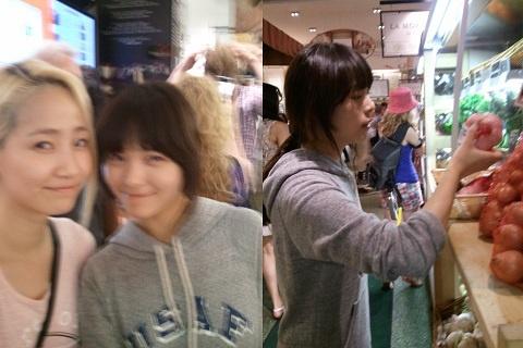 Wonder Girls' Yenny & Sun Enjoy Grocery Shopping