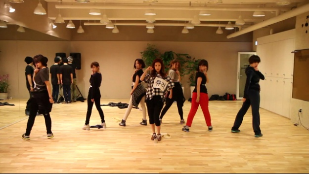 "T-ara Releases Dance Practice Video for ""Cry Cry"" and BTS for the MV"
