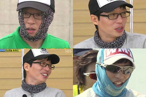 The Reason Why Yoo Jae Suk Wears a Bandana Around His Face