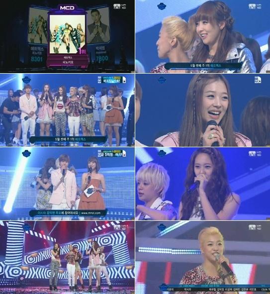 Mnet M! Countdown! 05.19.2011