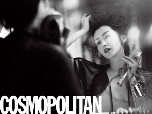 Kim Hee Sun's Flawless Cosmopolitan Photospread