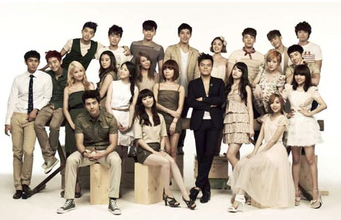 JYP Nation in Japan Photo Shoot Footage Released