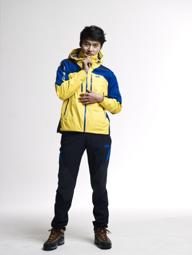 Hyun Bin for K2 Outdoor Brand (S/S '11)