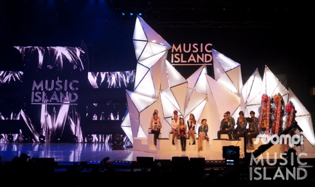"""Insider Look at SBS MTV """"Music Island"""" Ep. 3 ft. Teen Top, NS Yoon-G, Dynamic Duo, and Spica"""