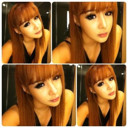 Park Bom Reveals Dazzling Selcas Through Her me2day Account