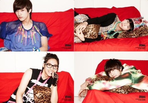 """B1A4 Releases Promotional Pictures and Teaser for """"Beautiful Target"""""""