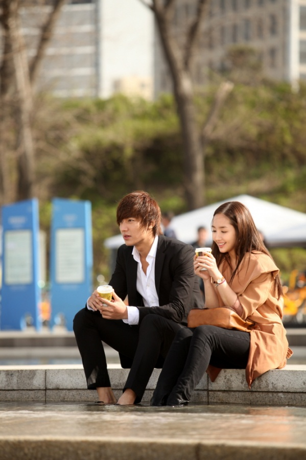 City Hunter: Lee Min Ho & Park Min Young Coffee Date