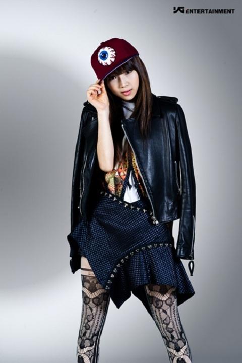 YGE Unveils Newest Girl Group Member Kim Eun Bi's Profile Photo