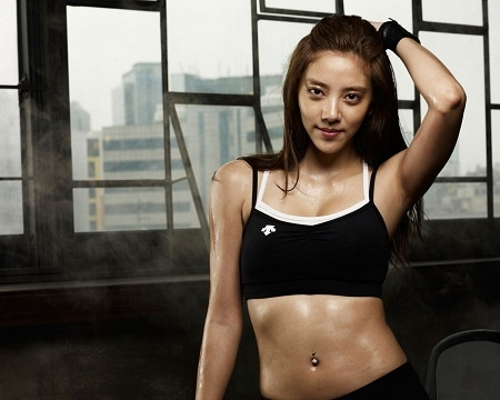 "Son Dambi Training Hard for Figure Skating Survival Show ""Kim Yuna's Kiss and Cry"""