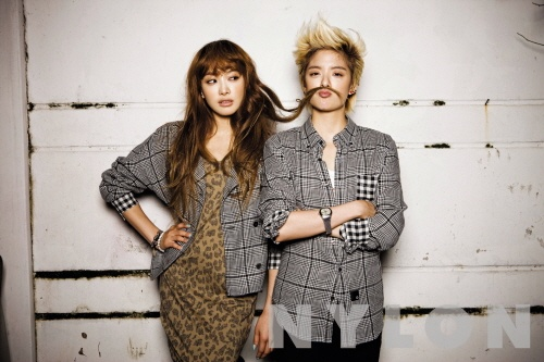"""F(x)'s Amber Plays Pretty Boy for Date with Victoria during """"Nylon"""" Photo Spread"""