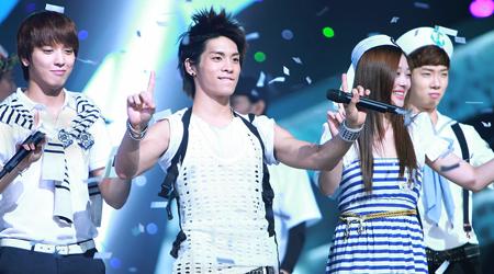 SBS Inkigayo 08.08.10 Performances