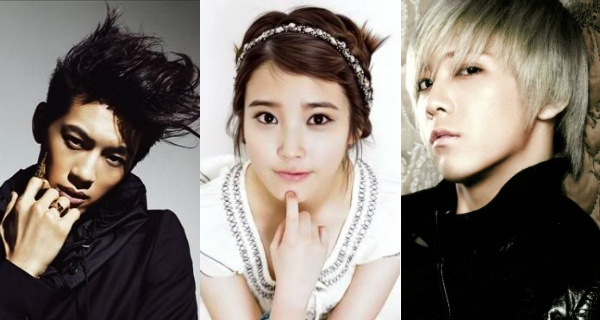 Se7en and Lee Hong Ki Console IU for Her Mistake