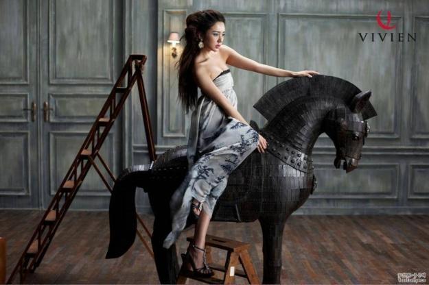 Vivien lingerie Spring 2009 Collection (Yoon Eun Hye)