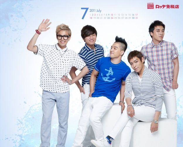 Big Bang Nominated for the MTV Europe Music Awards 2011