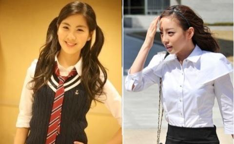 Campus Style: SNSD's Seo Hyun vs. KARA's Goo Hara