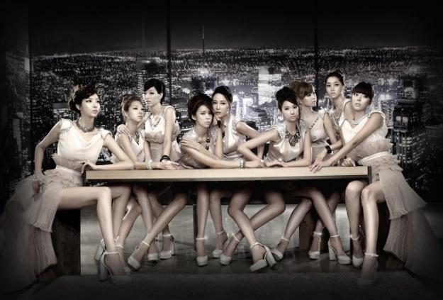 Nine Muses Members Pose For Debut Album