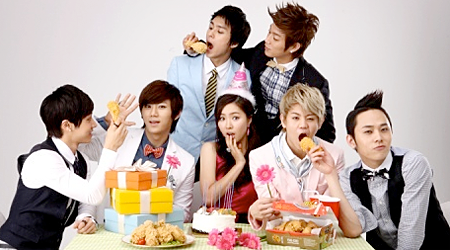 Beast And Shin Se Kyung For BBQ Chicken
