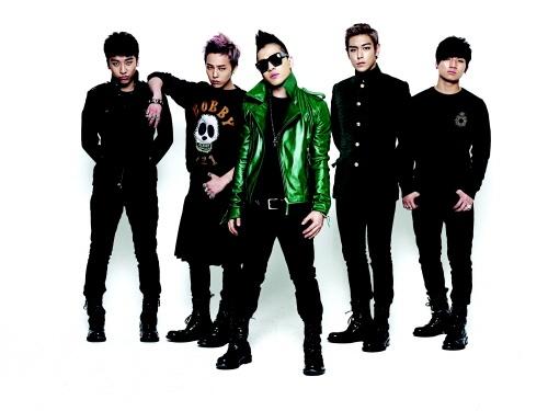 Big Bang Takes No.1 on Oricon Charts