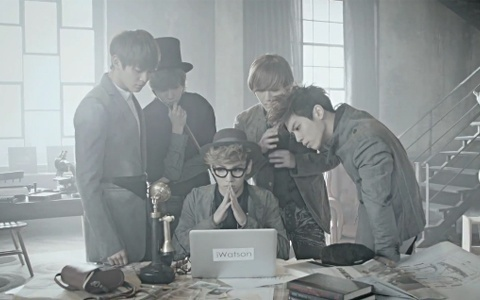 "SHINee Releases ""Sherlock"" Japanese Ver. Music Video"