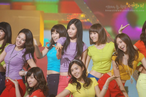 SNSD random group pics