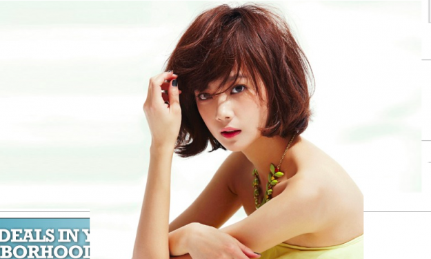 It's Spring for Yoon Seung Ah in InStyle