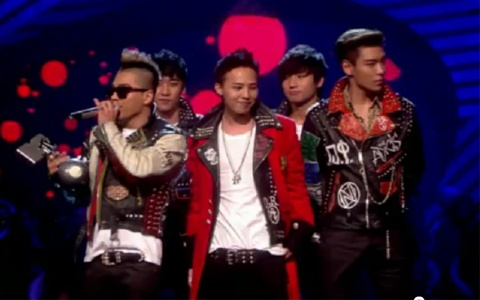 "Big Bang Wins the ""World Wide Act"" Award at MTV European Music Awards"
