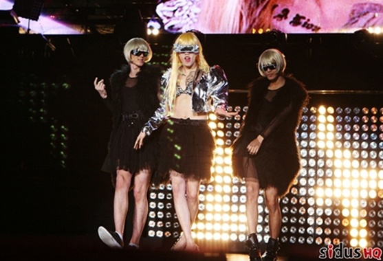 Jay Park Transforms Into Lady Gaga During First Solo Concert