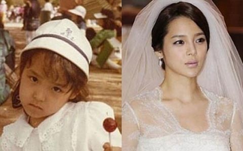 Past Photos of Actress Park Si Yeon Emerge Online