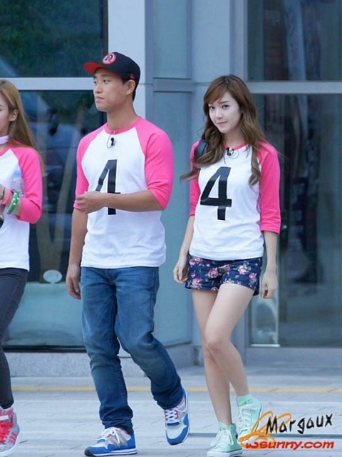 "Photo of Jessica During ""Running Man"" Recording Leaked"