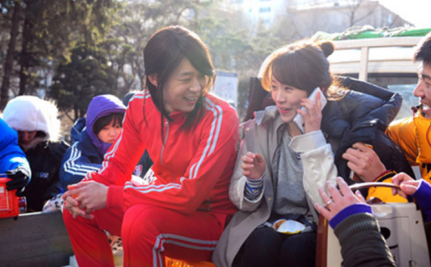 Han Ji Min Feels Lucky to Be Acting With Park Yoochun