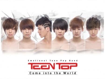 Teen Top Reveals Debut Album Jacket Photo