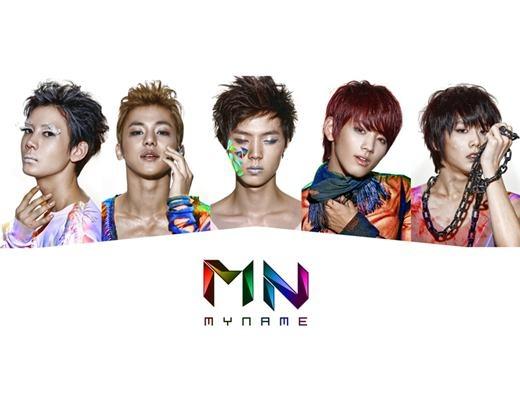 New Idol Group MYNAME Releases Album Jacket