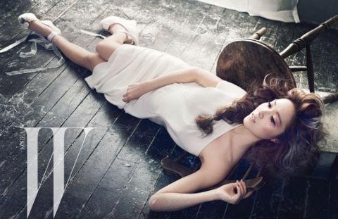 "Jessica's ""Ice Princess"" Photo Shoot for W Korea"