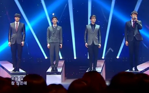 "2AM Performs ""I Wonder If You Hurt Like Me"" on Inkigayo"