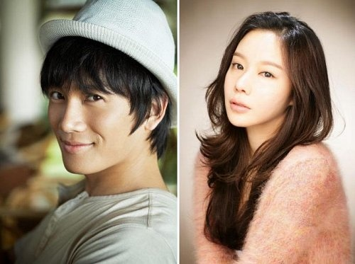 """Ji Sung and Kim Ah Joong For New Movie """"My P.S Partner"""""""