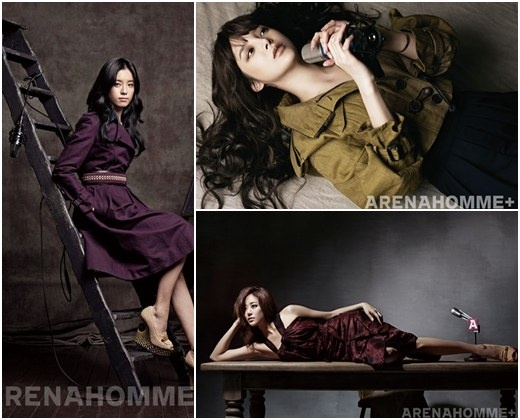 Leading Movie Stars Come Together on Arena Homme Plus