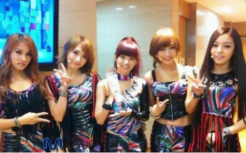 Kara Takes No.1 on a Japanese Chart With a Korean Song