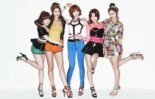 Girl's Day Wants to Win the Competition Against 4minute and SISTAR