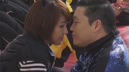 """Ha Ji Won and Psy's """"Secret Garden"""" Foam Kiss?!"""