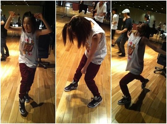Dara Teases 2NE1's New Dance Sequences