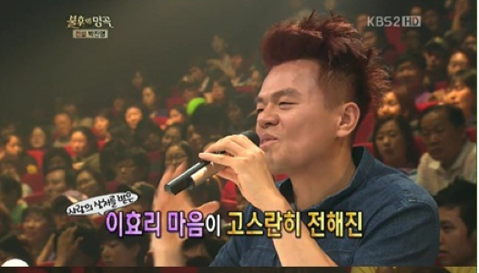 "J.Y. Park Wrote Lee Ki Chan's ""Love Leaves Again"" while Drinking with Lee Hyori"