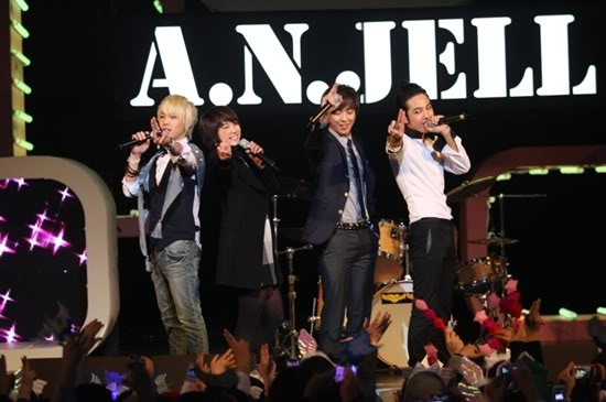 A.N.JELL Holds Its Last Concert