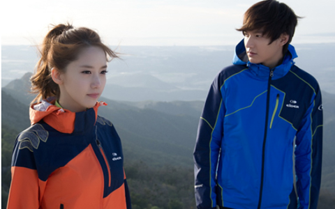 Lee Min Ho and Girls' Generation's YoonA Embrace in the Rain for Eider