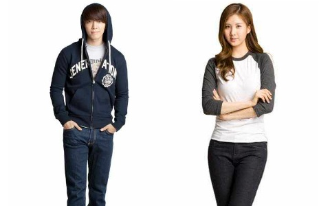 Super Junior Donghae and SNSD Seohyun Duet for African Children