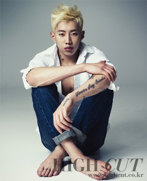 Jay Park Goes Blond in High Cut