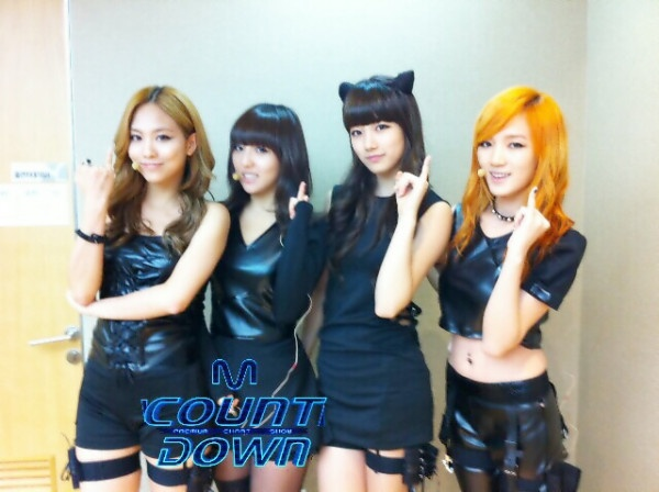 Mnet M! Countdown! 07.28.2011